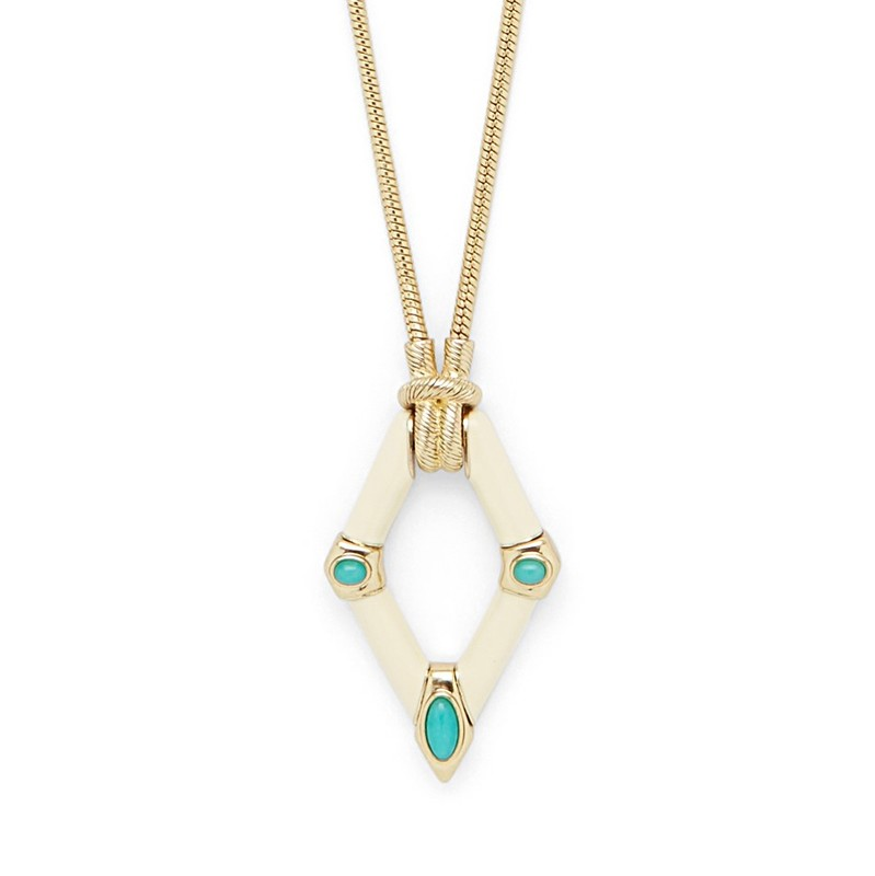 Model Content for House of Harlow 1960 Valda Necklace