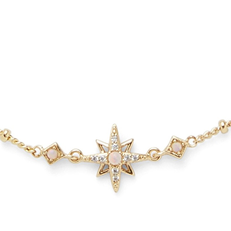 Rudiment Little Star Necklace in Gold