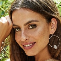 User Generated Content for Kendra Scott Elora Earrings in Gold and Platinum Druzy