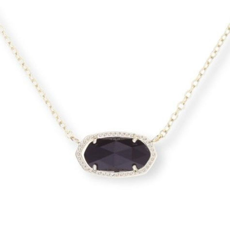 Kendra Scott Elisa Necklace in Black