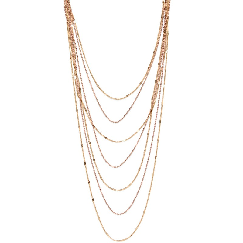 SLATE Gypsy Soul Necklace in Blush
