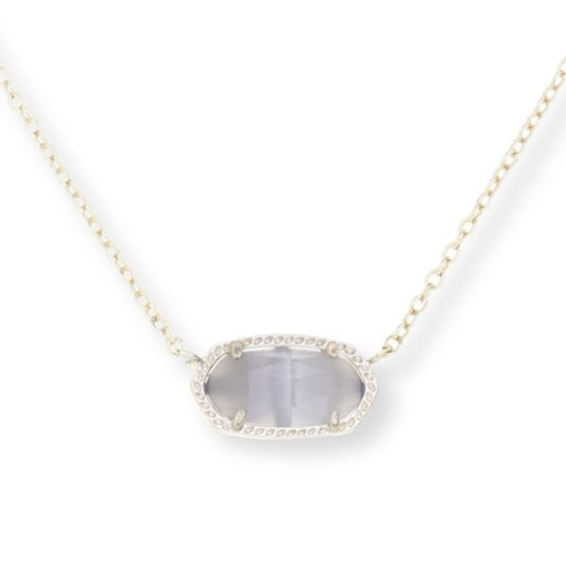 Kendra Scott Elisa Necklace in Slate