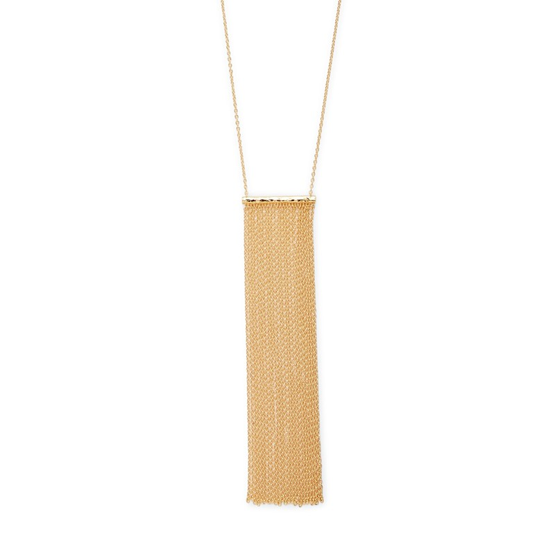 Gorjana Twiggy Fringe Necklace