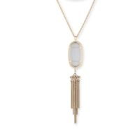 Model Content for Kendra Scott Rayne Necklace in Slate