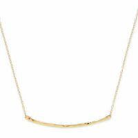 Model Content for Gorjana Taner Bar Small Necklace