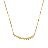 Model Content for Gorjana Mika Mini Plate Necklace