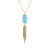 Model Content for Kendra Scott Rayne Necklace in Turquoise
