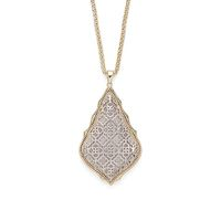Model Content for Kendra Scott Aiden Necklace in Gold and Silver