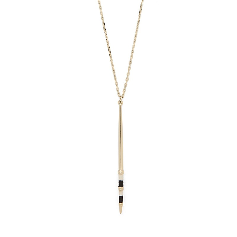 Aster Celosia Pendant Necklace