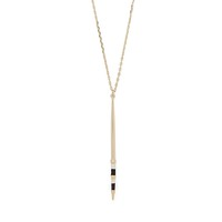 Model Content for Aster Celosia Pendant Necklace