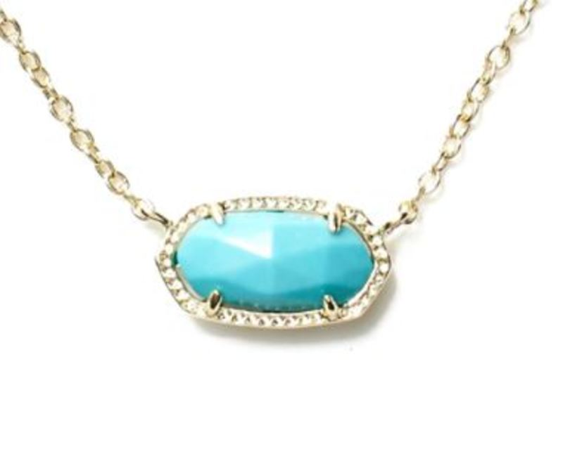 Model Content for Kendra Scott Elisa Necklace in Turquoise