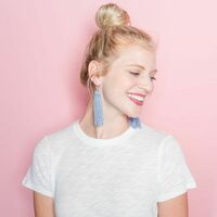 User Generated Content for Perry Street Nova Fringe Earrings in Black