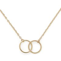 Model Content for Sophie Harper Interlocking Circles Necklace