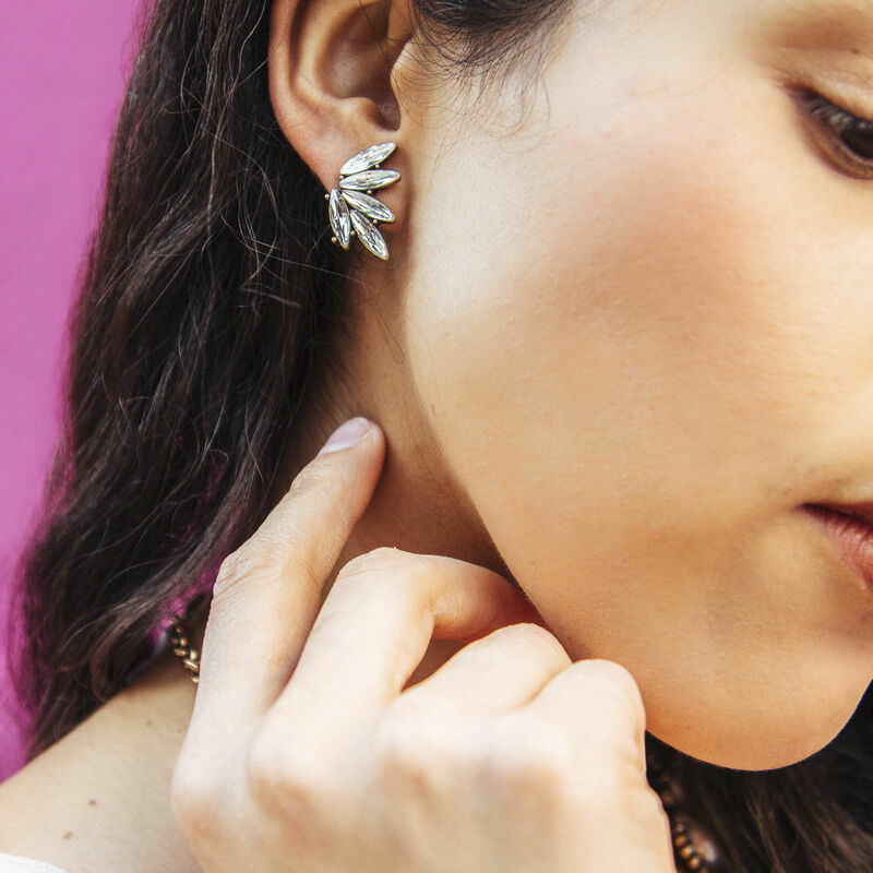User Generated Content for Perry Street Elyza Ear Climbers in Crystal