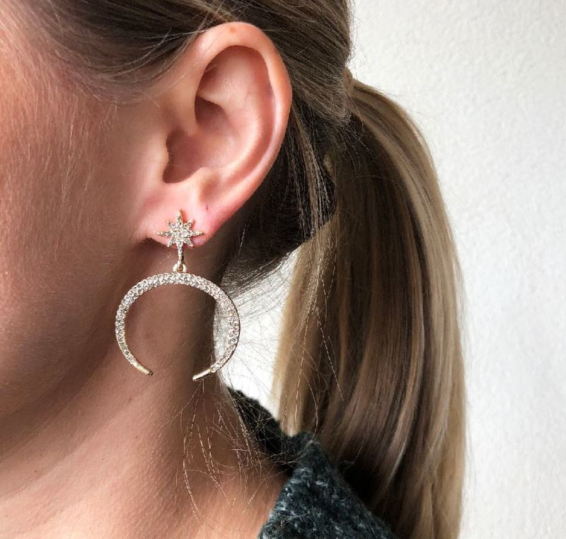 User Generated Content for SLATE Lyra Earrings in Gold