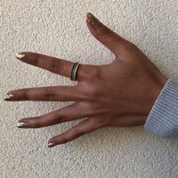 User Generated Content for Sophie Harper Blue Ombré Ring Stack in Gold