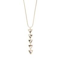 Model Content for Aster Acacia Pendant Necklace in Dalmatian Jasper