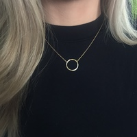 User Generated Content for Sophie Harper Open Circle Pavé Pendant