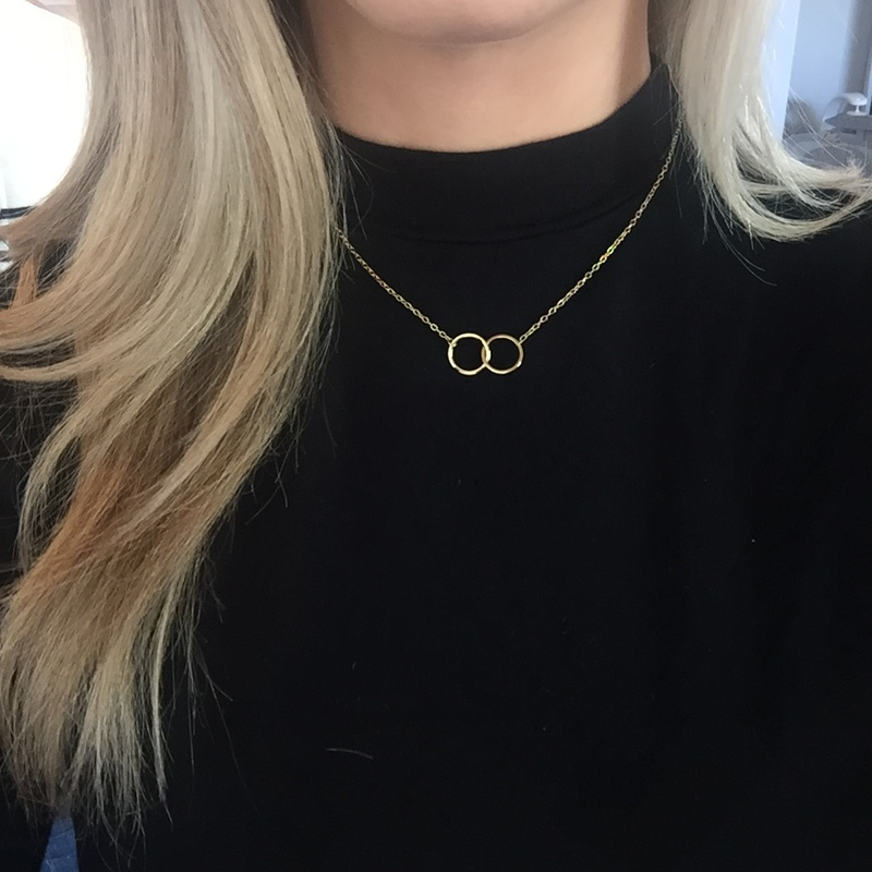 User Generated Content for Sophie Harper Interlocking Circles Necklace