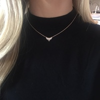 User Generated Content for Sophie Harper Pavé Marquise Pendant in Rose Gold