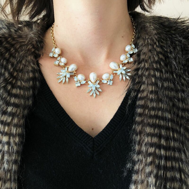 User Generated Content for Perry Street Delphine Statement Necklace