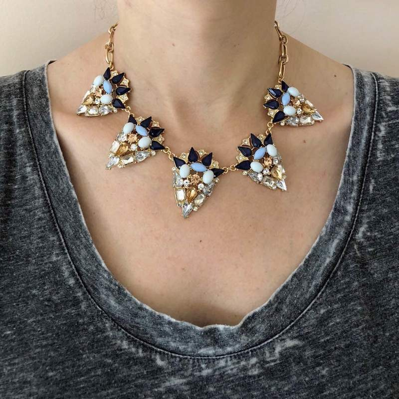 User Generated Content for Perry Street Britta  Statement Necklace