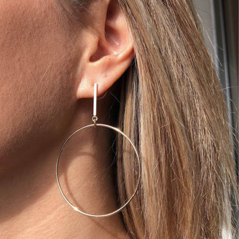 User Generated Content for SLATE Chauné  Hoop Earrings