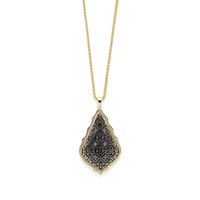 Model Content for Kendra Scott Aiden Necklace in Gold and Gunmetal