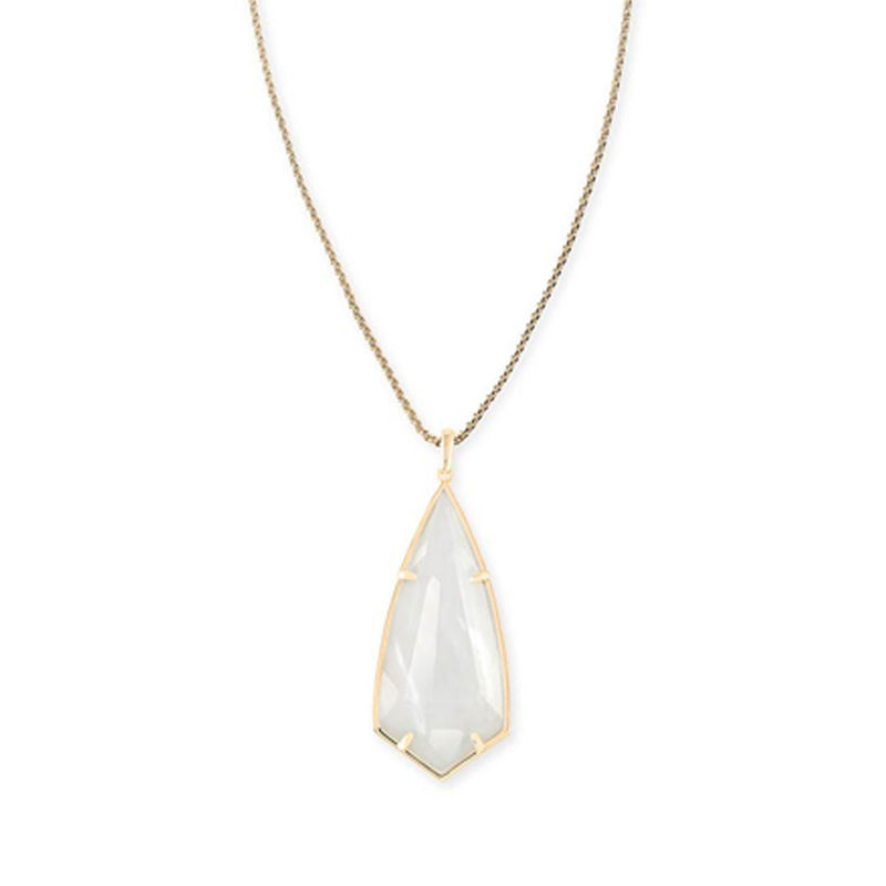 Kendra Scott Carole Necklace in Ivory Mother of Pearl