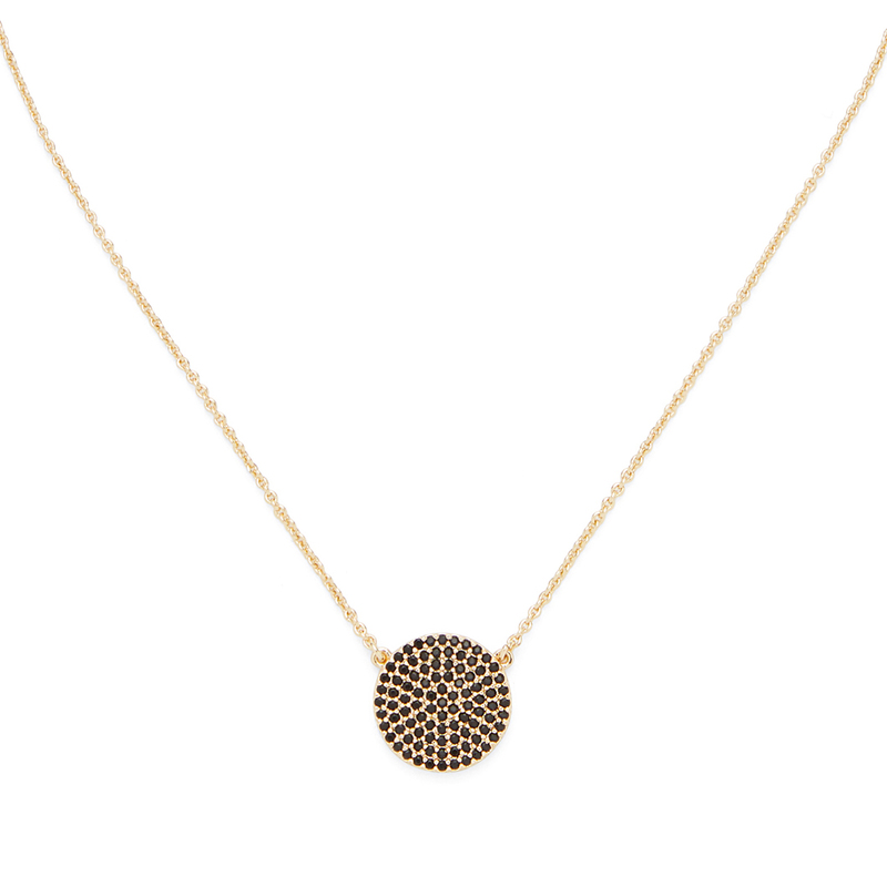 Rudiment Hayes Necklace with Black Pave