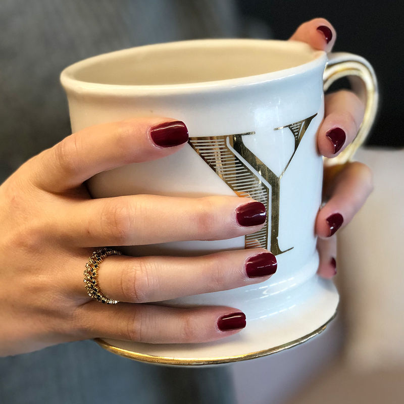 User Generated Content for Sophie Harper Zig Zag Stacking Rings in Crystal and Black Pave