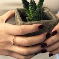 User Generated Content for Rudiment Minna Ring in Rose Gold