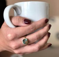 User Generated Content for Aster Zinnia Ring in Labradorite