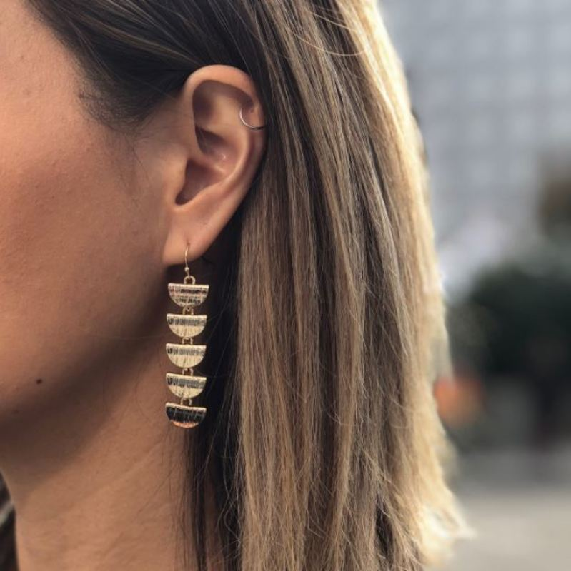 User Generated Content for Aster Azalea Drop Earrings in Silver