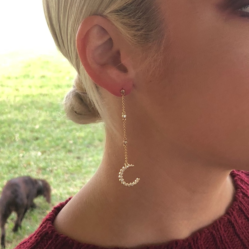 User Generated Content for Rudiment Palmer Earrings in Gold