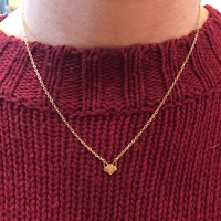 User Generated Content for Sophie Harper Fox Necklace in Gold