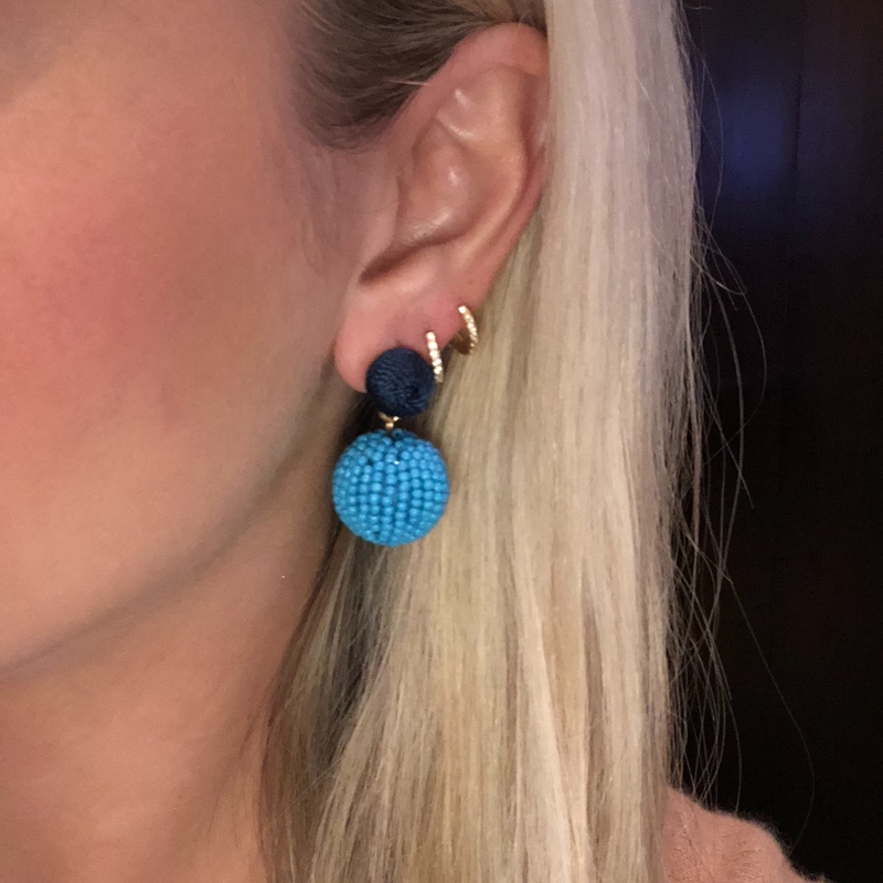 User Generated Content for Perry Street Luna Drop Earrings