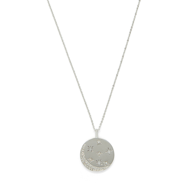 Rudiment Marlowe Pendant in Silver