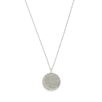 Model Content for Rudiment Marlowe Pendant in Silver