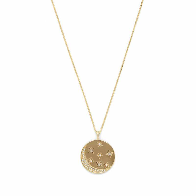 Rudiment Marlowe Pendant in Gold