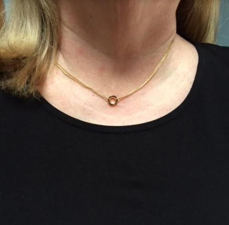 User Generated Content for Sophie Harper Double Chain Circle Necklace