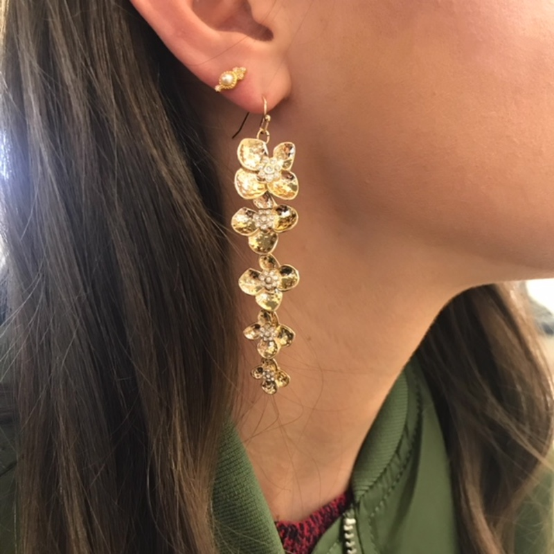 User Generated Content for Perry Street Arabella Earrings in Gold