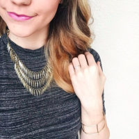 User Generated Content for Jenny Bird Palm Cili Collar in Gold