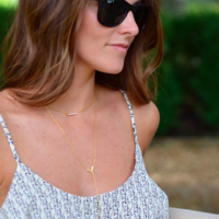 User Generated Content for Gorjana Woodburn Lariat Necklace