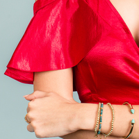 User Generated Content for SLATE Porter Hinge Cuff in Turquoise