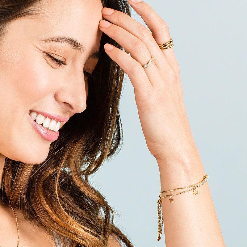 User Generated Content for Sophie Harper Star Slider Bracelet in Gold