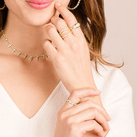 User Generated Content for Melinda Maria Isla Ring in Gold and Opal