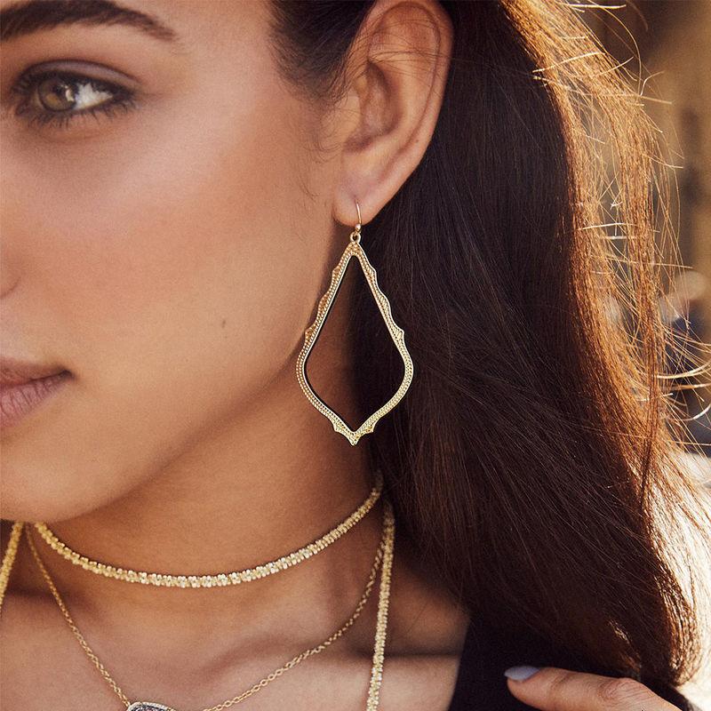 User Generated Content for Kendra Scott Sophee Drop Earrings in Silver