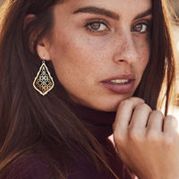 User Generated Content for Kendra Scott Addie Earrings in Gold and Silver
