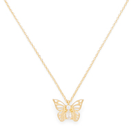 Model Content for Kate Spade Social Butterfly Mini Pendant